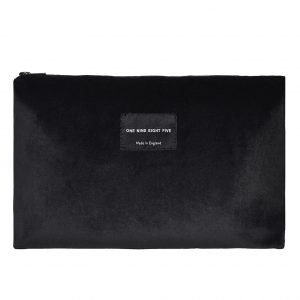 Zip Pouch Large Black website ONE NINE EIGHT FIVE b