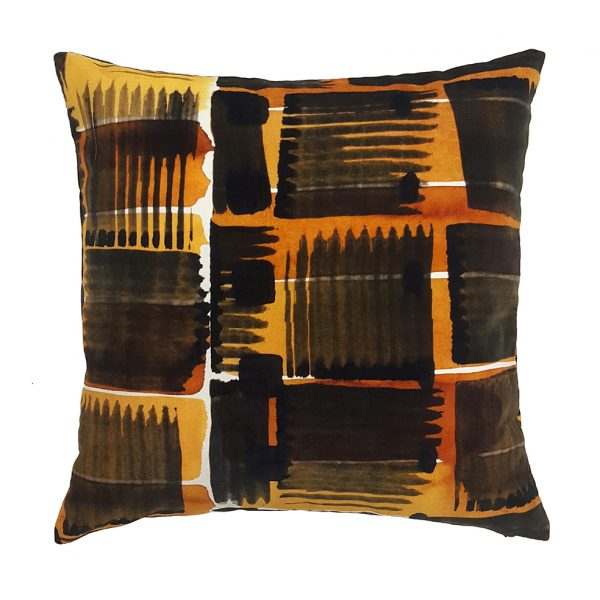 Abstract Check Cushion 50x50cm ONE NINE EIGHT FIVE Website