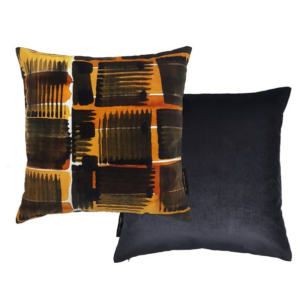 Abstract Check Cushion Front and Back 45x45 One Nine Eight Five Website