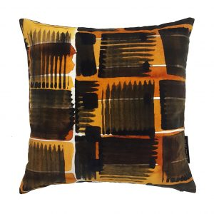 Abstract Check Cushion ONE NINE EIGHT FIVE