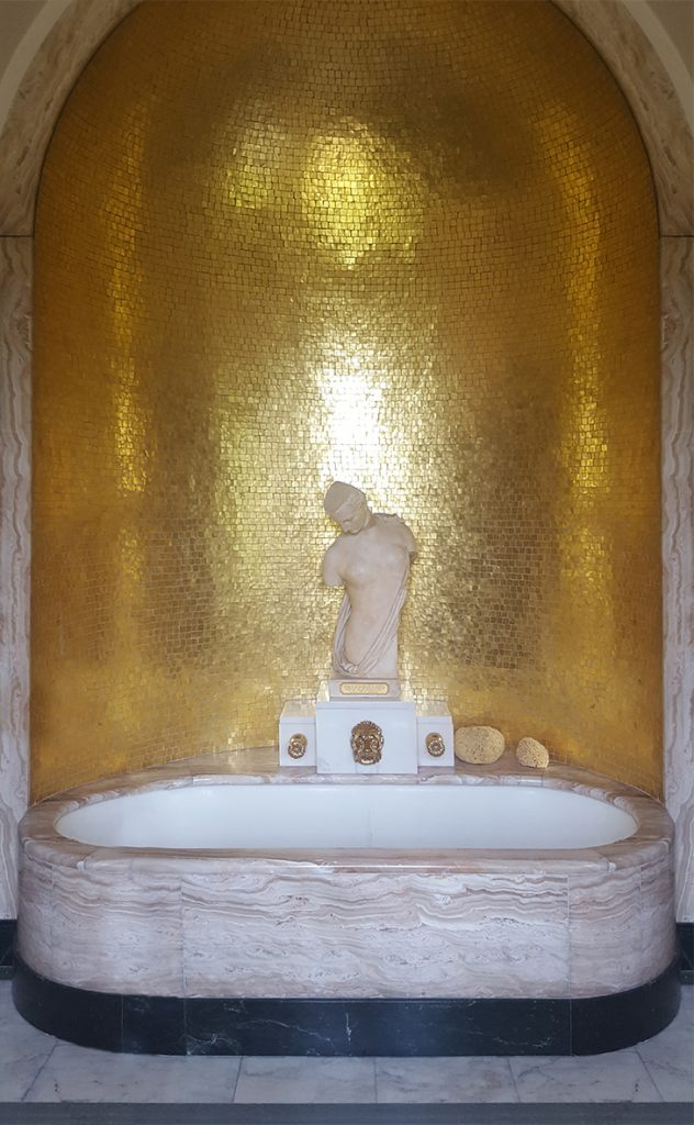 eltham palace bathroom virginia gold - Bathroom Tiles Eltham