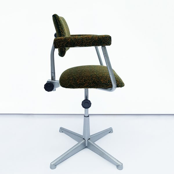 Pixel Camo desk chair ONE NINE EIGHT FIVE side