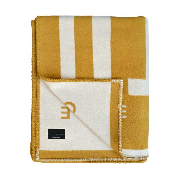 Labyrinth Throw Tan Folded B ONE NINE EIGHT FIVE website