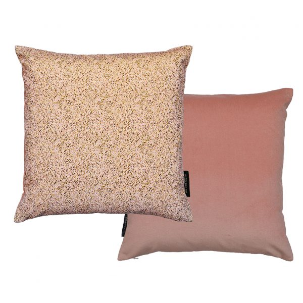 Pixel Pink Cushion 45x45cm Front and Back One Nine Eight Five Website