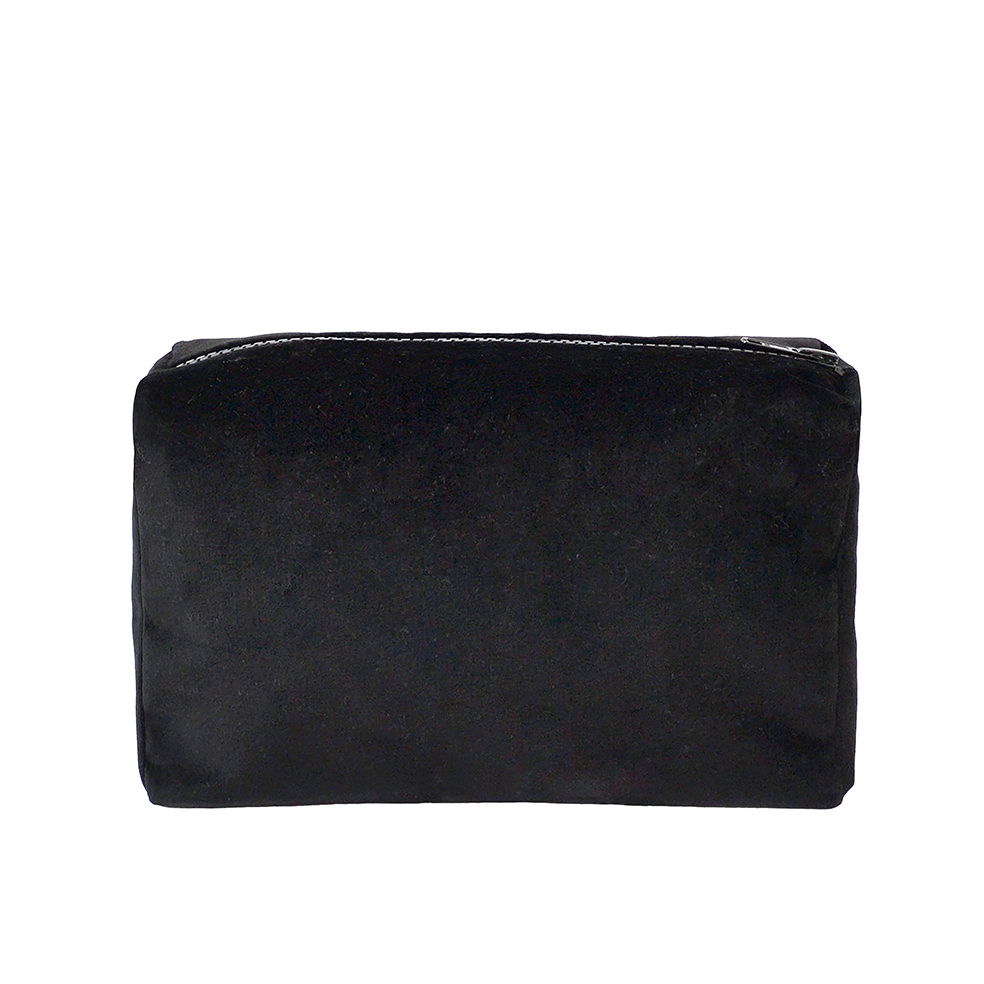 Zip Pouch Black Small One Nine Eight Five