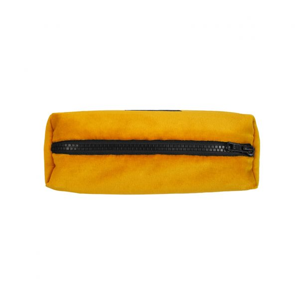 Zip Pouch Small Ochre Top Website ONE NINE EIGHT FIVE