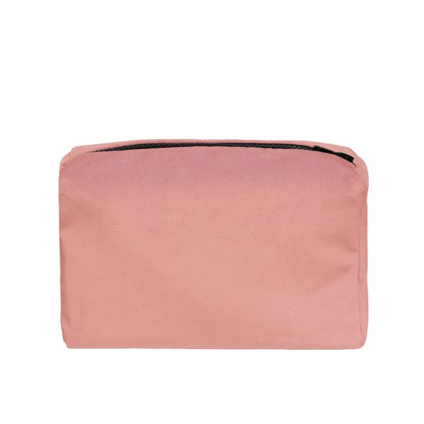 Zip Pouch Small Pink Back Website ONE NINE EIGHT FIVE