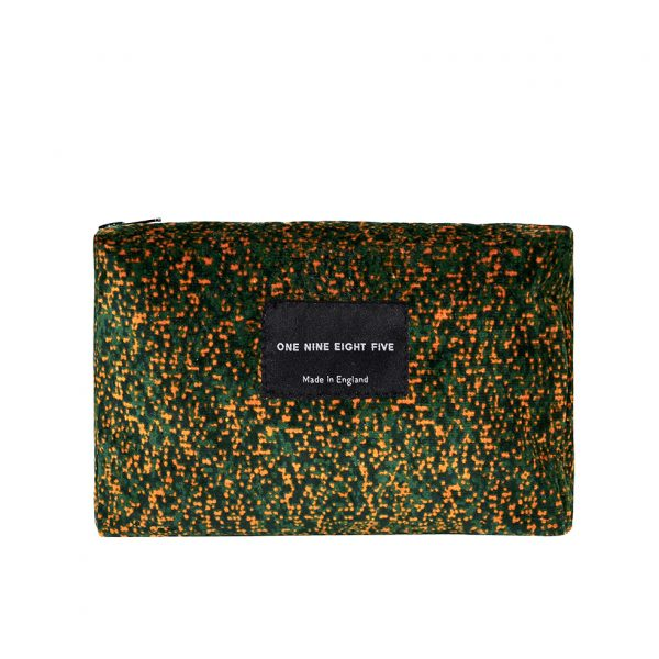 Zip Pouch Small Pixel Camo Front website ONE NINE EIGHT FIVE b