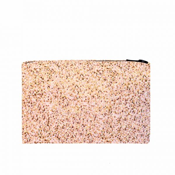Zip Pouch Small Pixel Pink Back website ONE NINE EIGHT FIVE b
