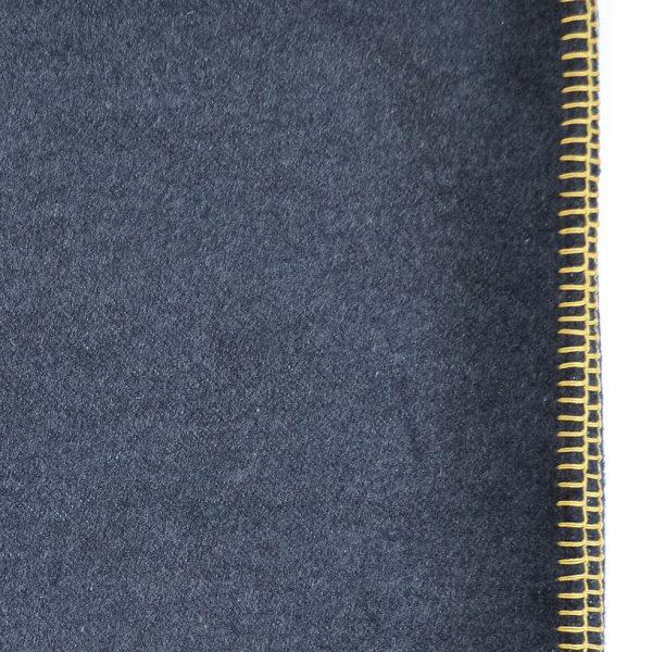 Plain Throw Grey Wheat Detail ONE NINE EIGHT FIVE website