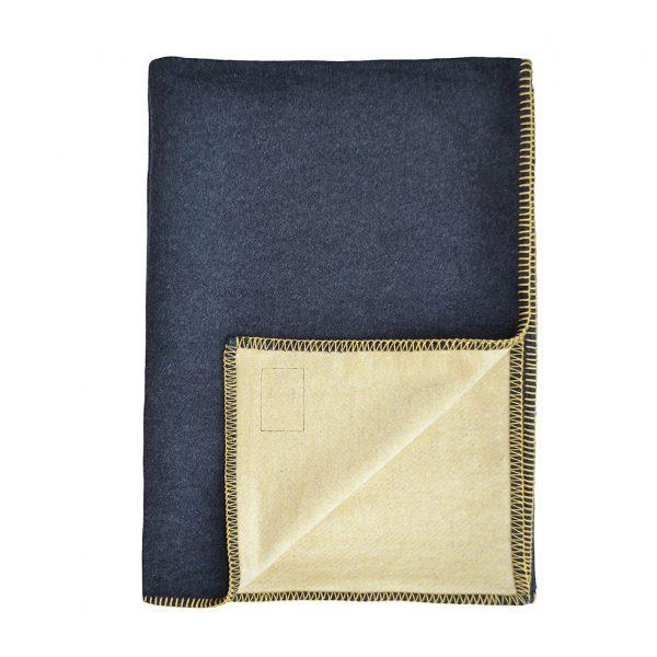 Plain Throw Grey Wheat Folded B ONE NINE EIGHT FIVE website