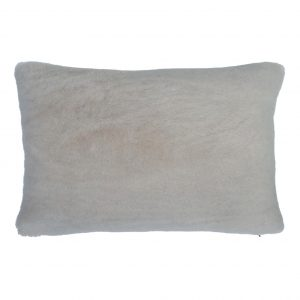 Sheepskin Cushion Bolster Taupe ONE NINE EIGHT FIVE