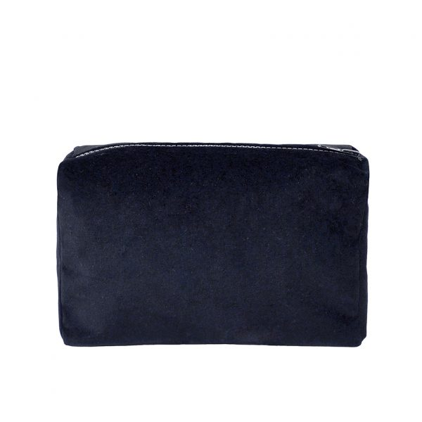 Zip Pouch Small Grey Back Website ONE NINE EIGHT FIVE