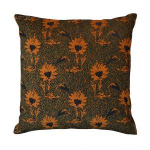 Flora Cushion Ochre One Nine Eight Five website