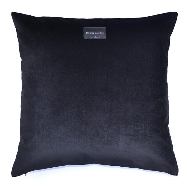 Flora Cushion Pink Back ONE NINE EIGHT FIVE