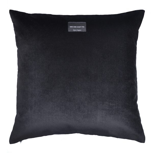 Maze Cushion Ochre Back ONE NINE EIGHT FIVE Website