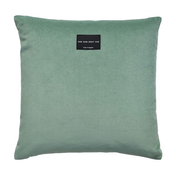 Tassel Cushion Jade Back One Nine Eight Five Website
