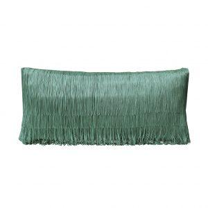 Tassel Cushion Jade 30x60cm Wesbite One Nine Eight Five