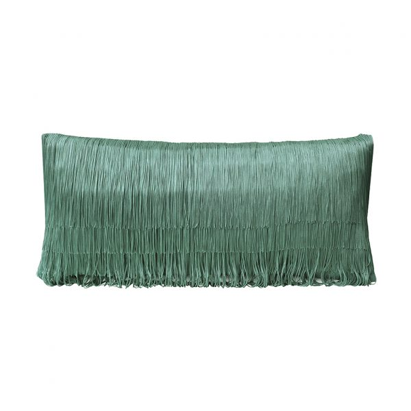Tassel Cushion Jade 30x60cm Wesbite One Nine Eight Five