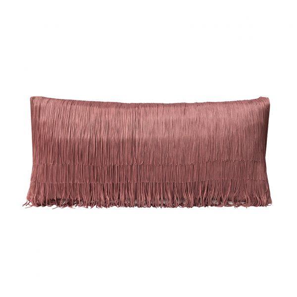 Tassel Cushion Pink 30x60cm Website One Nine Eight Five
