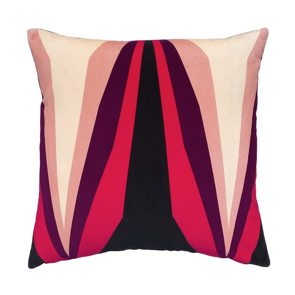 Ada Cushion Pink Front 45x45cm One Nine Eight Five Website
