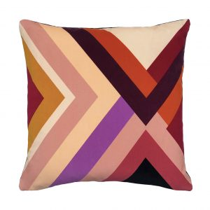 Agnes Cushion Pink Front 45x45cm One Nine Eight Five Website