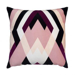 Bessie Cushion Pink Front 50x50cm One Nine Eight Five Website