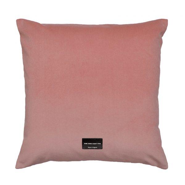 Dorsey Cushion Pink Back 45x45cm One Nine Eight Five Website