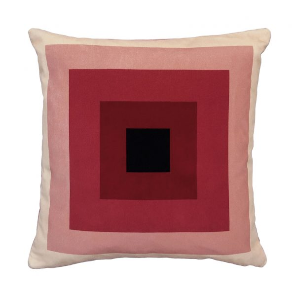 Nell Cushion Pink Front 40x40cm One Nine Eight Five Website