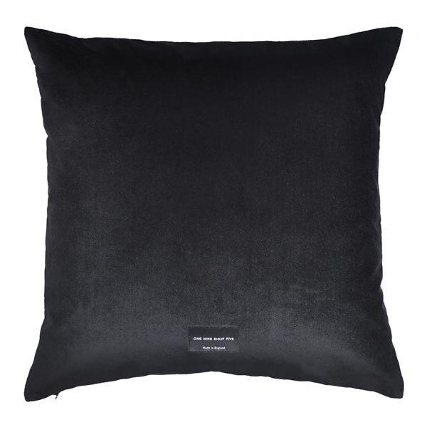 Nola Cushion Black Back 50x50cm One Nine Eight Five Website