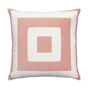 Nola Cushion Pink Front 50x50cm One Nine Eight Five Website