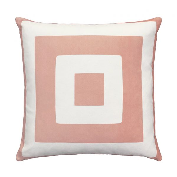 Nola Cushion Pink Front 50x50cm One Nine Eight Five Website