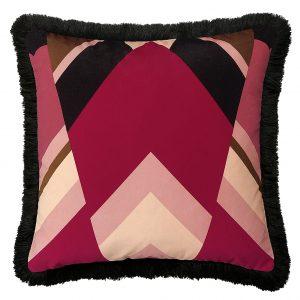 Priscilla Fringe Cushion Front 50x50cm One Nine Eight Five Website